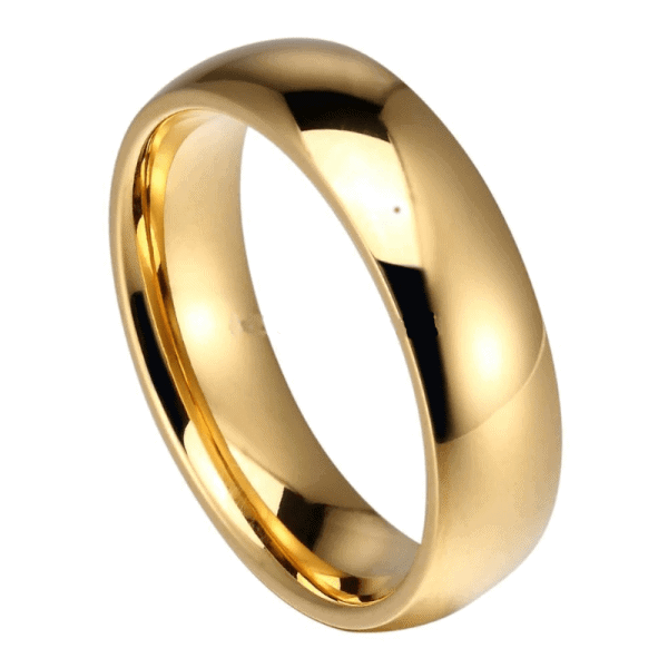 Gentleman Gold Mens Wedding Ring Mens Wedding Rings