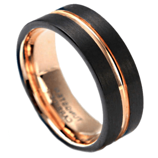 The Executive Mens Tungsten Ring Mens Wedding Rings
