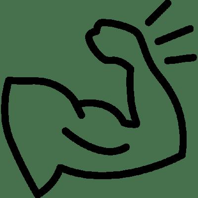 tunsgten rings for men - muscle