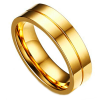 gold men's wedding ring - The Geraldton