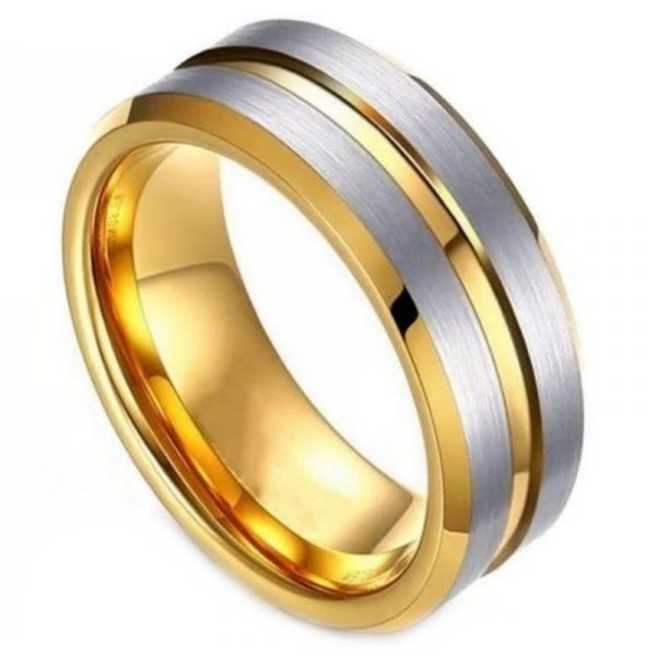 amsterdam Mens Wedding Rings