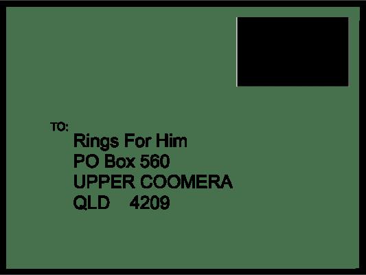 return address 1 Mens Wedding Rings
