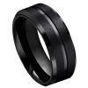 Men's Black Rings