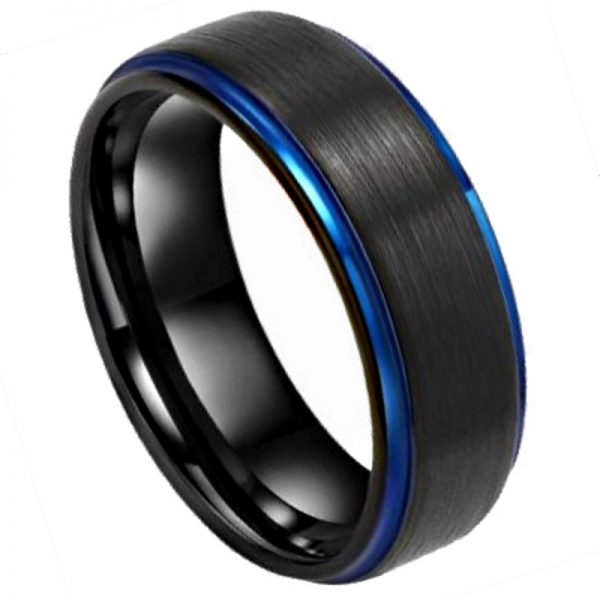 The Alvin - Men's Tungsten Ring