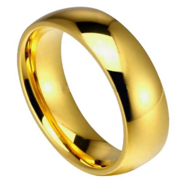 embassy 8mm Mens Wedding Rings