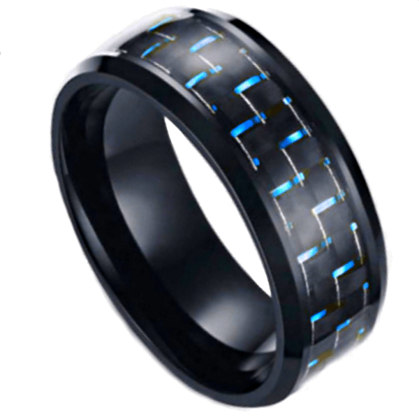 raven blue 1 Mens Wedding Rings